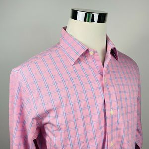 Brooks Brothers 16 34 Slim Non Iron Dress Shirt